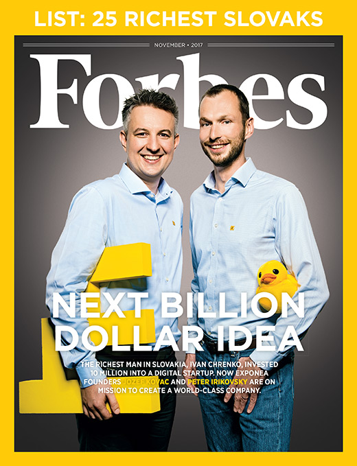 Forbes Exponea Cover