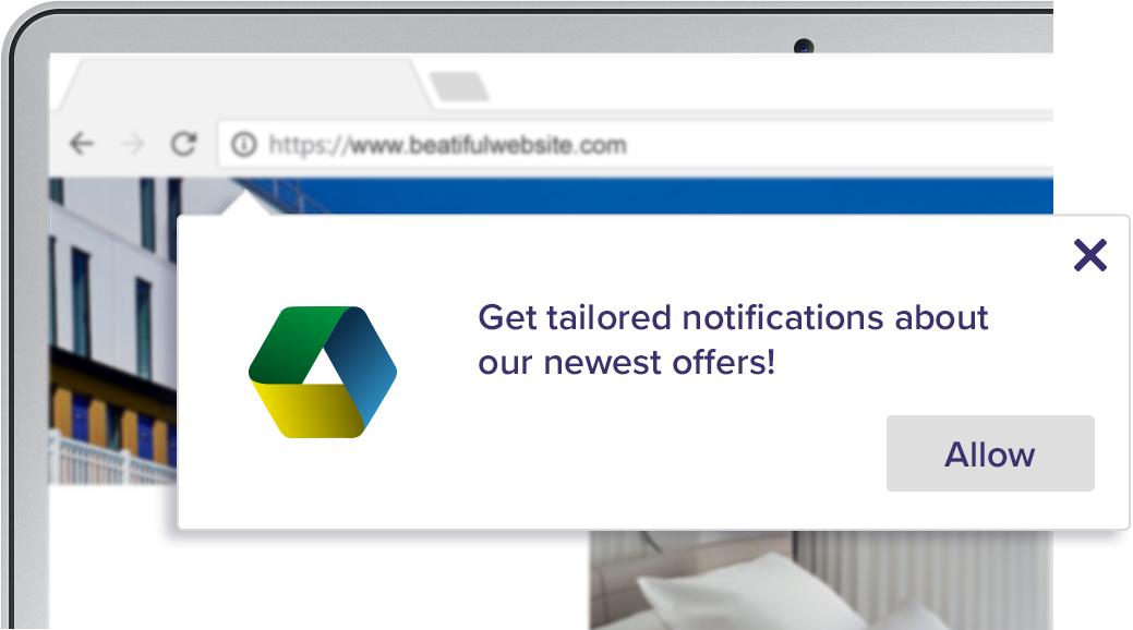 Get tailored notifications about our newest offers
