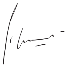 Peter Irikovsky signature CEO
