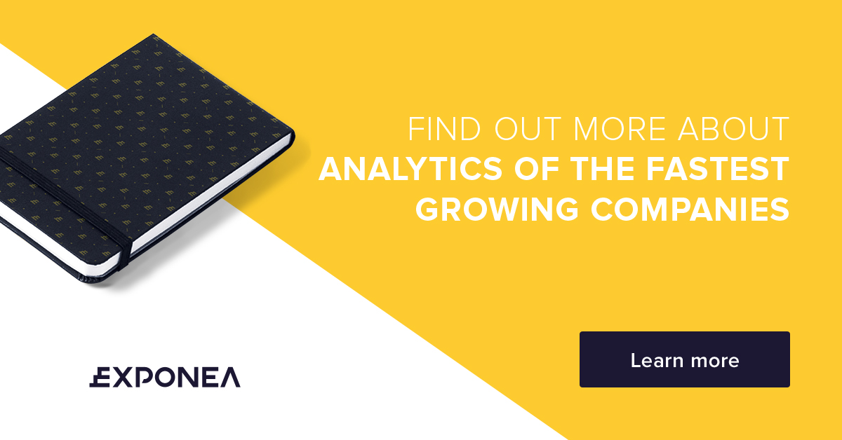 exponea analytics tool CTA