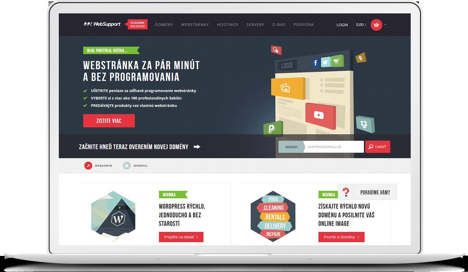 Websupport success story hero image