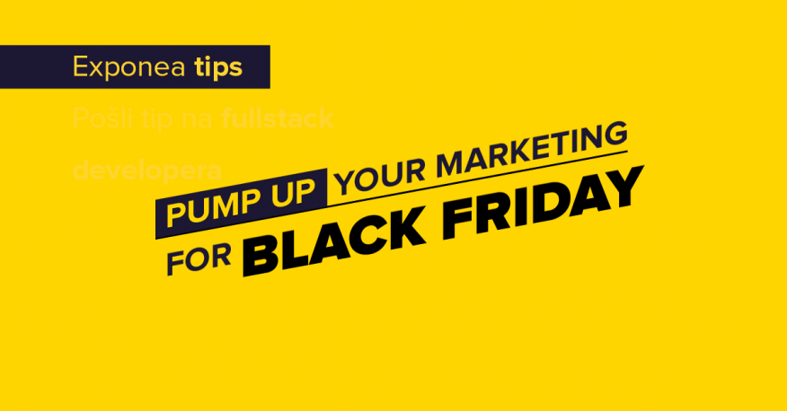 Pump up your marketing for Black Friday