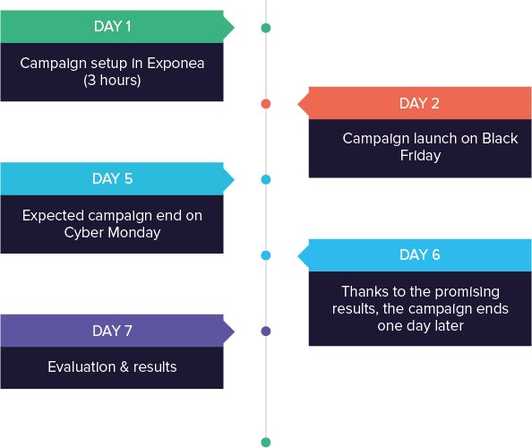 Electronic-star success story solution timeline