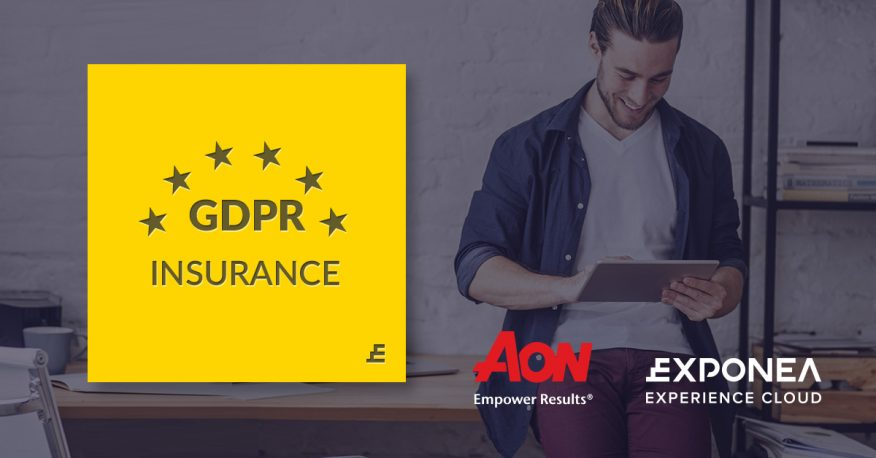 "Exponea is among the first companies to get ""GDPR insured"""