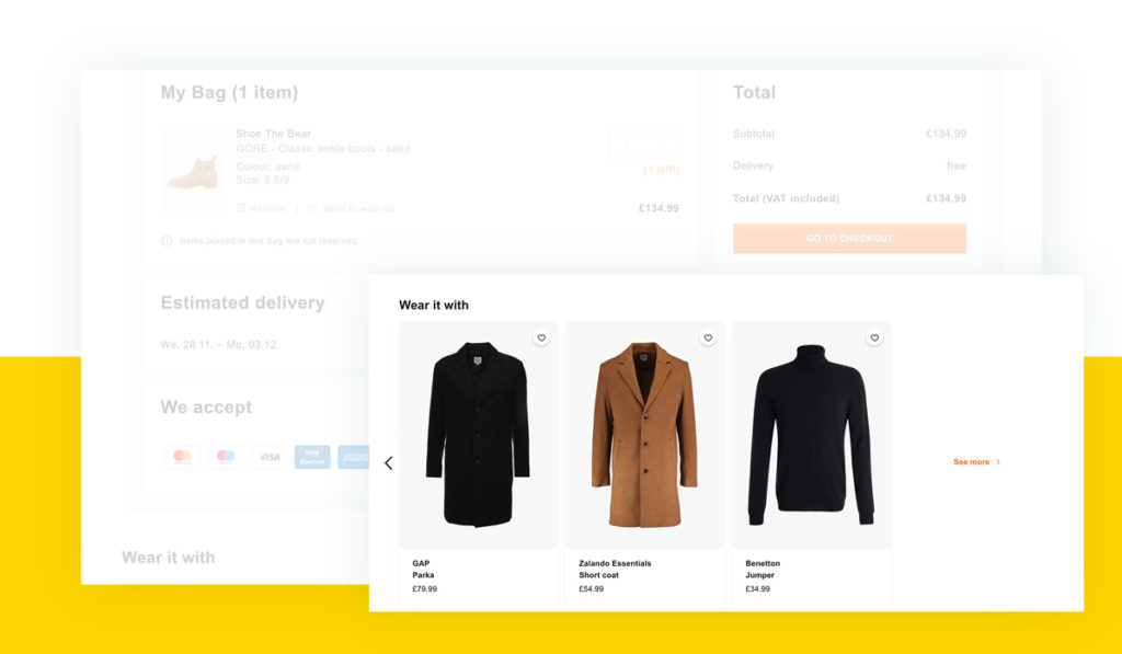 AI fashion: E-Commerce 2019