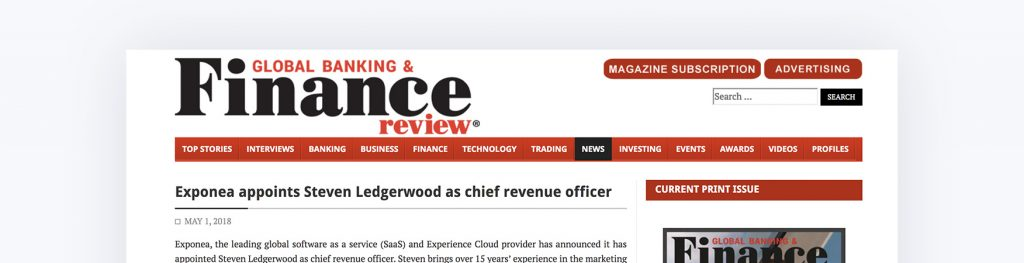 Steven Ledgerwood Finance Review