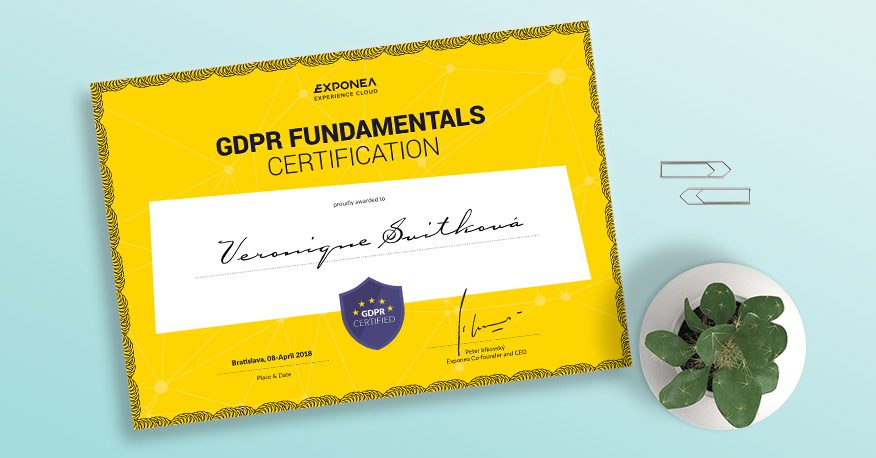 GDPR Fundamentals Certification