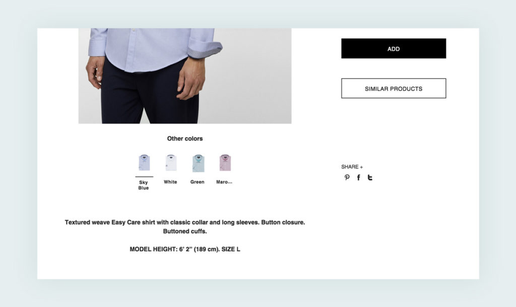 Zara is a well-known clothing brand