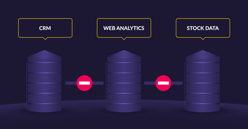 Keep Data in Different Silos