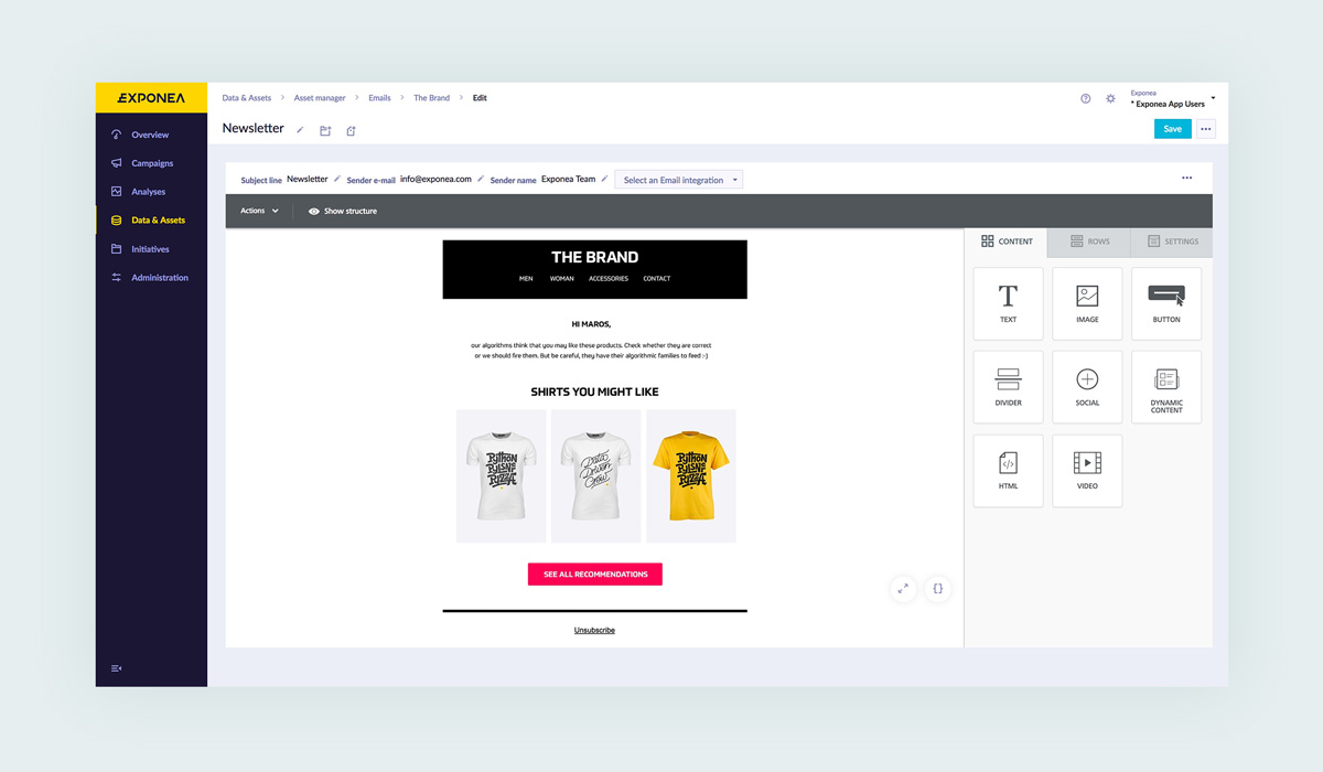Improve Average Order Value: Newsletter Product Recommendations