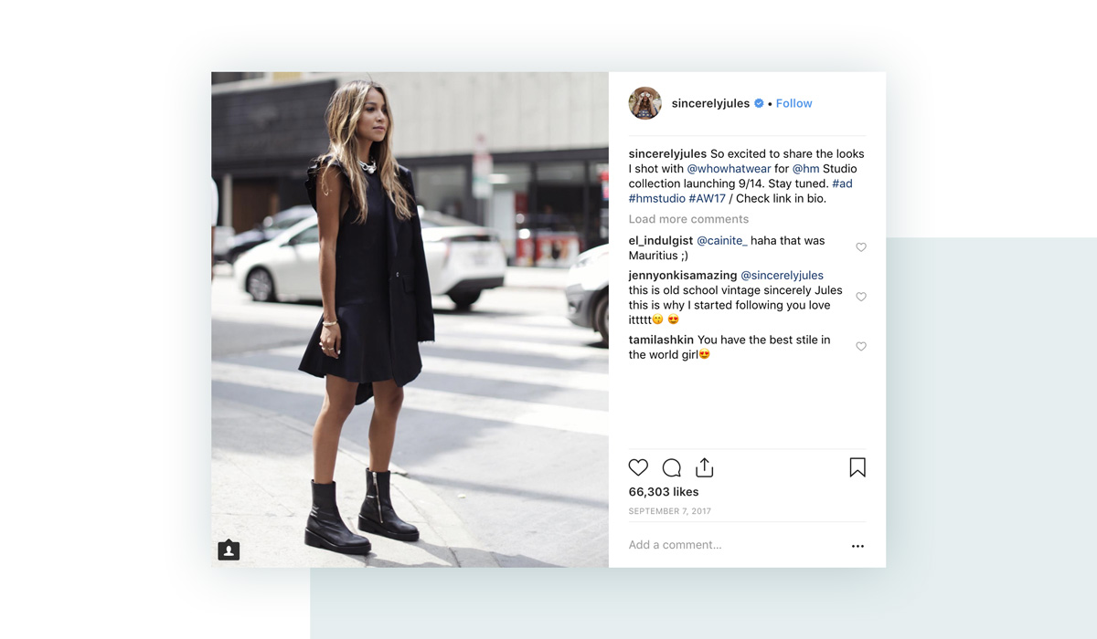 Influencer Marketing Campaigns: Instagram Post