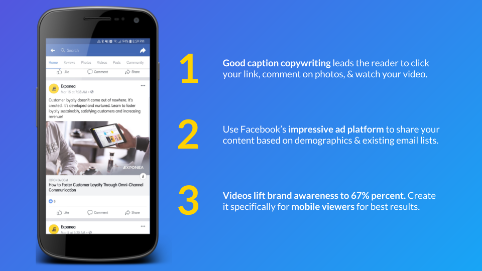 Omnichannel Marketing Strategy: Facebook