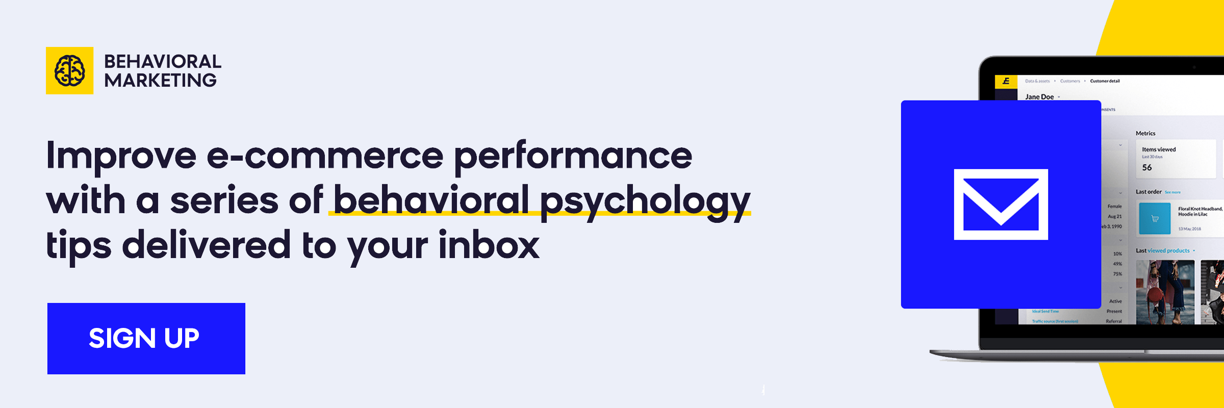 behavioral marketing - email course