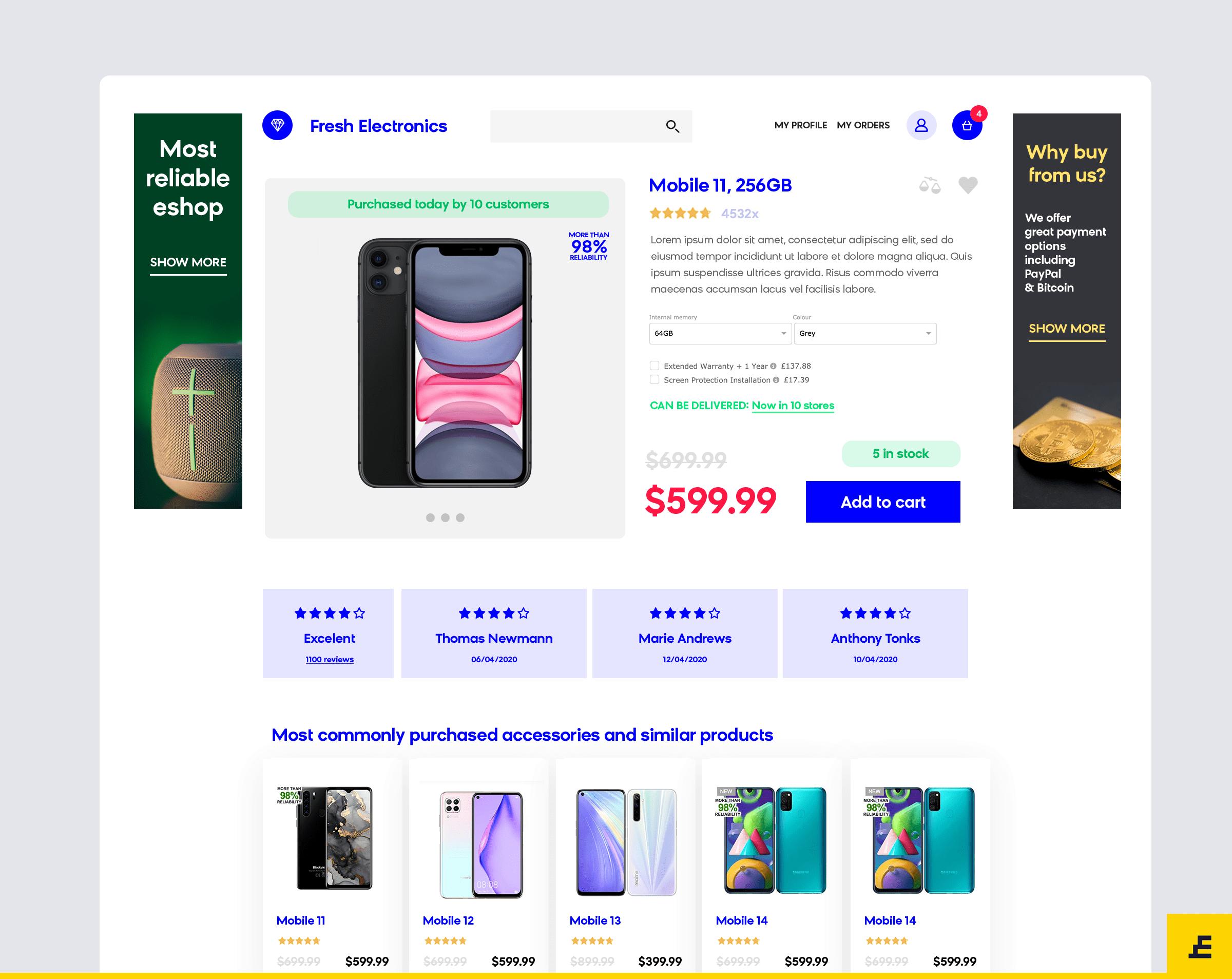 marketing psychology ecommerce - product page