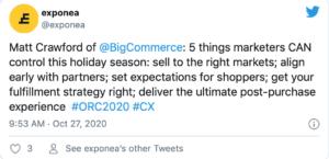 Exponea Twitter Online Retail Challengers Matt