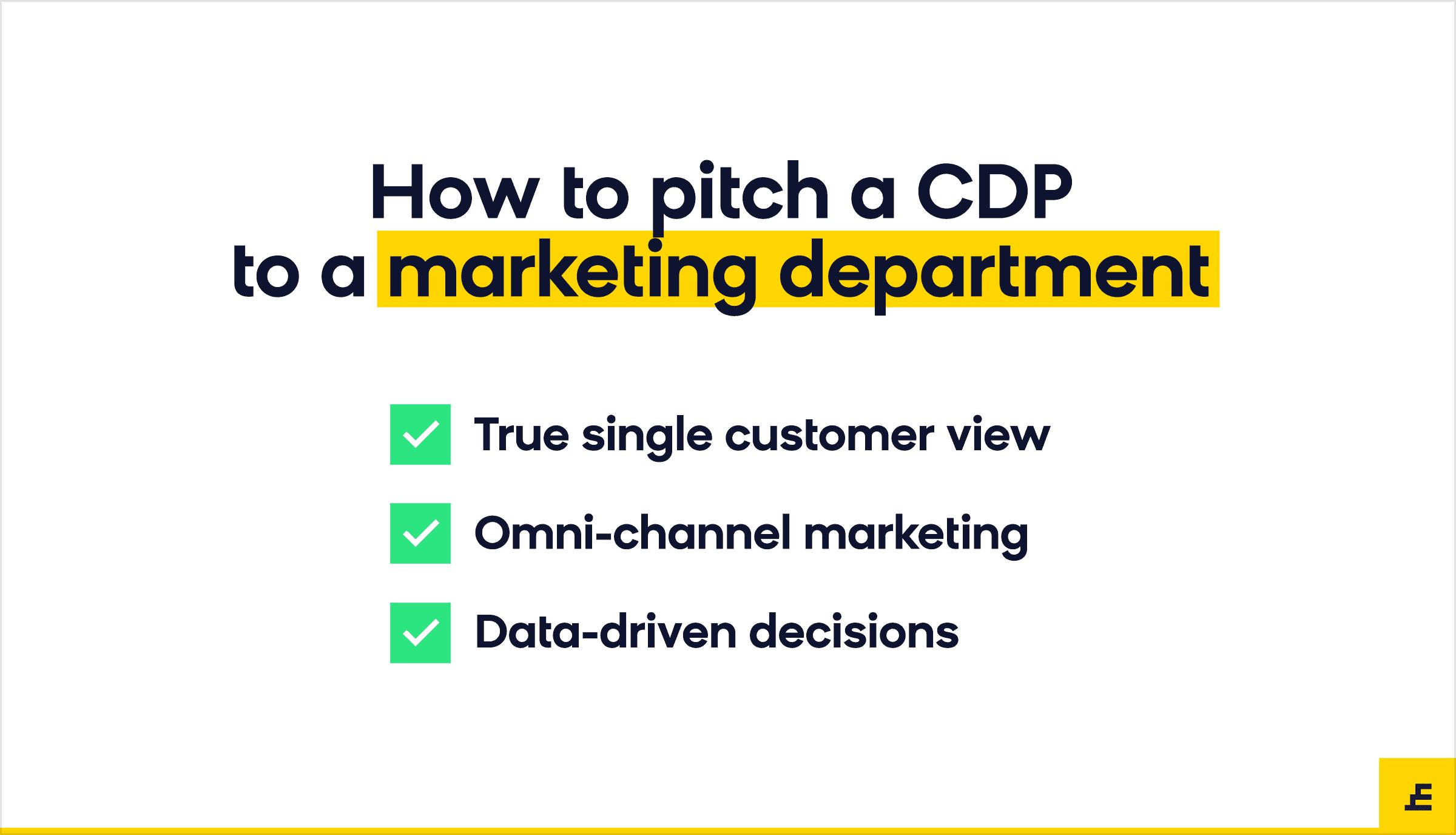 customer data platform (cdp) - marketing